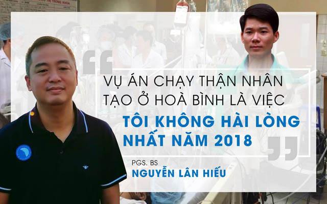 PGs. Bs Nguyễn Liên Hiếu bày tỏ suy nghĩ về vụ việc của bác sĩ Hoàng Công Lương
