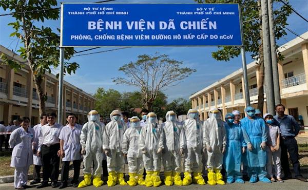 Bệnh viện dã chiến ở Củ Chi kiên cường chống dịch covid-19