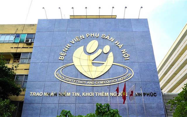 Bệnh viện Phụ sản Hà Nội - Địa chỉ chữa viêm âm đạo nổi tiếng hiện nay