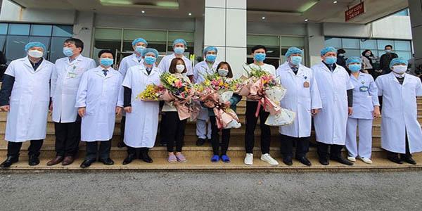 Đội ngũ y bác sĩ Việt Nam đã chữa khỏi cho 16 ca nhiễm Covid-19