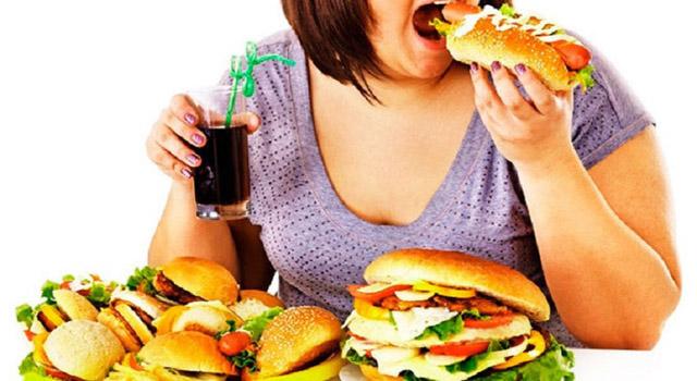 Một chế độ ăn uống không khoa học cũng có thể khiến bệnh hình thành