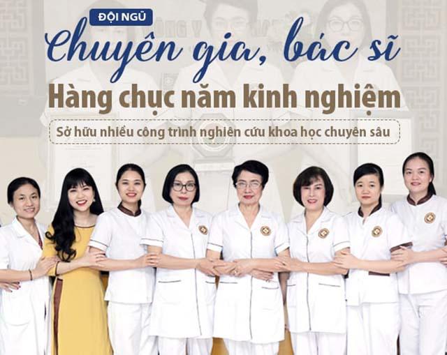 Đội ngũ chuyên gia hàng đầu tại Phòng khám Đông y Việt Nam
