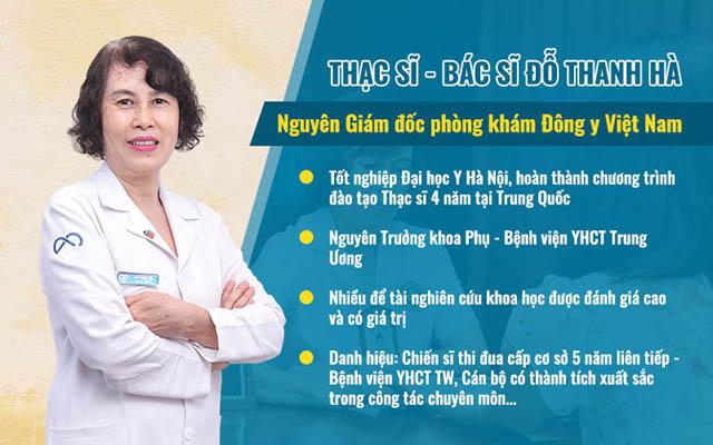 Thông tin đầy đủ về bác sĩ Đỗ Thanh Hà