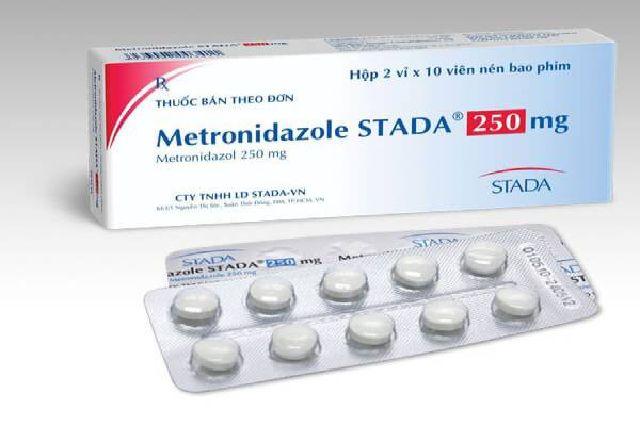 Metronidazole là thuốc kháng sinh chữa viêm âm đạo