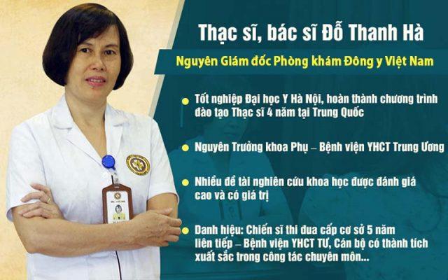 Thông tin về bác sĩ Đỗ Thanh Hà