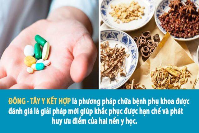 Bài thuốc kết hợp linh hoạt Đông - Tây y nâng cao hiệu quả