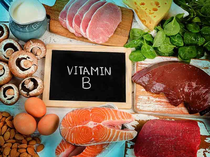 Bổ sung nhiều thực phẩm chứa vitamin B