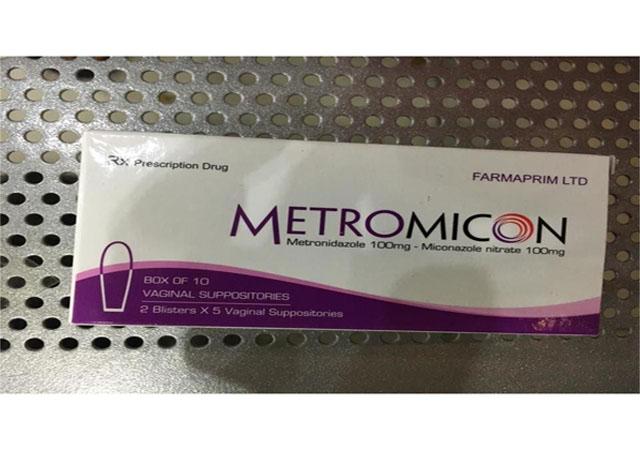 Thuốc đặt Metromicon điều trị viêm âm đạo do Trichomonas