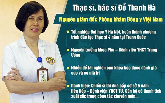 Bác sĩ Đỗ Thanh Hà là người bạn đồng hành tin cậy của nhiều chị em phụ nữ