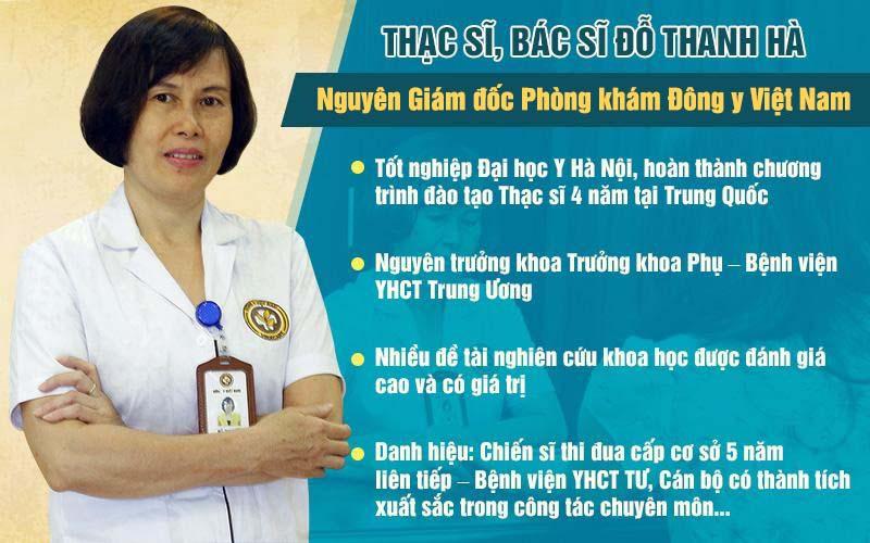 Thạc sĩ, bác sĩ Đỗ Thanh Hà có kinh nghiệm 40 năm khám, chữa bệnh sản phụ khoa